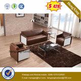 Sofá de couro da sala de visitas 1+2+3 modernos Best-Selling (HX-CS059)