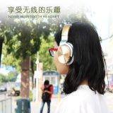 Активно шум отменяя наушники, связанный проволокой HiFi шлемофон с наушниками изоляции шума Над-Уха Mic