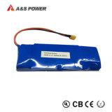 paquet rechargeable de batterie Li-ion du lithium 18650 de 11.1V 6600mAh 6.6ah