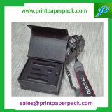 Rectángulo de tarjeta de papel plegable de gama alta del rectángulo de papel de la impresión en offset que empaqueta el rectángulo de regalo impreso