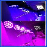 Van het LEIDENE van het stadium de Verlichting van de Disco/van de Partij van de Was 19*12W Gezoem van het Aura
