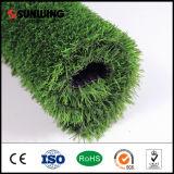 Alta calidad decorativa Falso césped verde para los artes de trigo