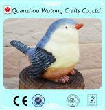 Изготовленный на заказ симпатичные Figurines птицы смолаы украшения сада