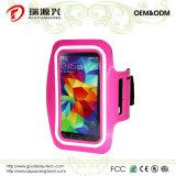 Brazal para la galaxia S5 de Samsung, el iPhone 6/6s y HTC (color de rosa)