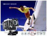 Sport HD 4k DV 2.0 van de AntiFunctie van de Schok van de gyroscoop de Ultra ' video van de Sport DV van Ltps LCD WiFi de Digitale
