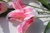 가정 결혼식 훈장을%s 실제적인 접촉 백합 인공 꽃