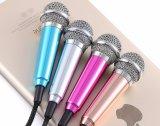 iPhone&Android 정제 컴퓨터를 위한 소형 헤드폰 Karaoke 마이크에 최신 판매 소형 이동할 수 있는 마이크 3.5mm 타전된 클립