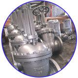 Строб нержавеющей стали служил фланцем клапан