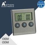Termômetro de cozimento da cozinha de Digitas para o assado da grade do BBQ do forno da carne