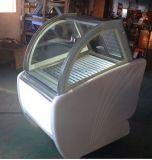 Visualizzazione della vetrina del negozio di gelato duro Tk-6