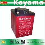 Batterie marine DC225-6 de cycle profond de Guangzhou 6V 225ah