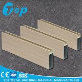 Tubi quadrati di alluminio 2017 di rivestimento di legno di Foshan per il disegno del soffitto