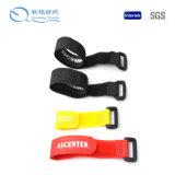 Prendedor plástico do laço da cinta plástica de nylon ajustável da cinta