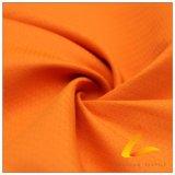 agua de 75D 210t y de la ropa de deportes tela tejida chaqueta al aire libre Viento-Resistente 100% de la pongis del poliester del telar jacquar abajo (E012B)