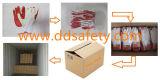 Guanto rivestito di gomma del lavoro di colore rosso di Ddsafety 2017
