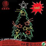 休日のイベントの装飾のセリウムRoHSのためのLED第2上の星のクリスマスツリーのモチーフの装飾的なライト
