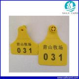 Напечатанная бирка уха Barcode для скотин/коровы /Calf 78*56 mm