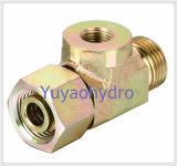 Type de morceaux Raccords de tube Finition à écrou pivotant (DIN2353)