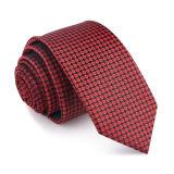 Lazo tejido seda hecha a mano del traje del 100% para los hombres