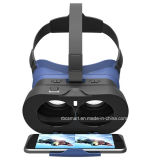 판매 주문 Google 마분지 2를 위한 조정가능한 3D 사실상 스크린 유리 도박 Vr 고글 상자 헤드폰