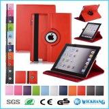 De roterende Slimme Dekking van het Geval van de Tik van het Leer voor de Tablet van de Melkweg van Samsung van iPad