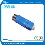 Hembra al adaptador de fibra óptica femenino para la cuerda de corrección de la fibra