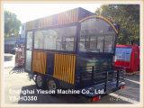 Ys-Ho350 de Multifunctionele Auto van de Keuken van de Aanhangwagen van het Snelle Voedsel Mobiele