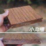 Populärer natürlicher karbonisierter Strang gesponnener im Freien Bambusbodenbelag/Decking-Bambusbodenbelag