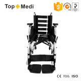 Алюминий ширины места Topmedi медицинского оборудования регулируемый складывая ручную кресло-коляску