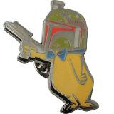 Insigne de badge imprimé en émail dur souvenir personnalisé