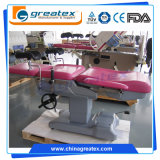 Tableau de travail obstétrique électrique de la CE d'hôpital hydraulique professionnel de FDA (GT-OG100)