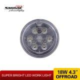 linterna de la agricultura de la luz LED del trabajo de la máquina de 18W 5inch