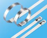 304 316 Stahlreißverschluss-Gleichheit (multi Widerhaken-Verschluss-Typ)