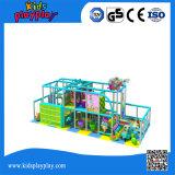 Оборудование спортивной площадки горячей игры детсада высокого качества сбывания пластичной крытой мягкое