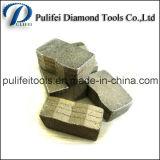 切断の花こう岩の平板の大理石のブロックのための石造りのツールのダイヤモンドセグメント
