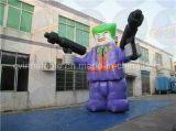 Изготовленный на заказ раздувные рекламируя персонажи из мультфильма шаржа раздувные