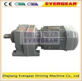 Motor helicoidal en línea del engranaje de la alta calidad