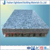 El panel de aluminio del panal del granito