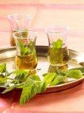 Entwässerter Pfefferminz-Tee
