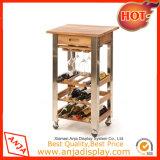 Gabinete de vino antiguo de madera