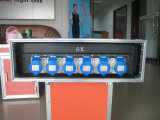 확성기를 위한 6개의 채널 통신로 전력 공급 상자