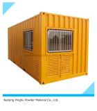 De gele OpenluchtDeklaag van het Poeder voor de Deklaag van de Container