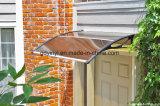 DIY освобождают тент поликарбоната для защищенного UV сени дома окна двери (YY1000-N)