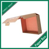 Projeto novo caixa de papel ondulada personalizada