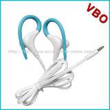 Écouteur mains libres de câble de sports de lecteur MP3