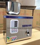 Gránulos del polvo de la partícula de W200 2-200g que pesan y máquina de rellenar