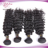 100% Raw Unprocessed Cabelo Humano Malaio Deep Wave Hair