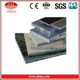 Graue Oberflächenbehandlung-Aluminiumbienenwabe-Panels