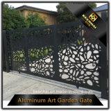Porte d'entrée principale en aluminium de vie moderne