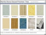 Marmorstein glasig-glänzende Polierporzellan-Fußboden-Fliesen (VRP69M026)
